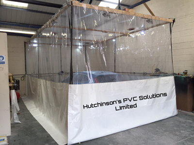 custom spray booth